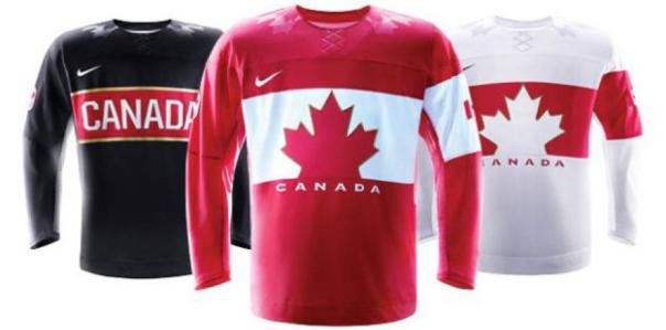 Team Canada 2014 Sochi Olympic Hockey Jeresys