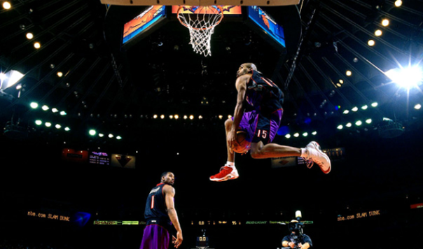 Vince Carter and Tracy McGrady Dunk Contest Toronto Raptors