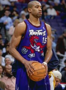 Vince Carter Toronto Raptors