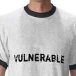 Vulnerability t-shirt