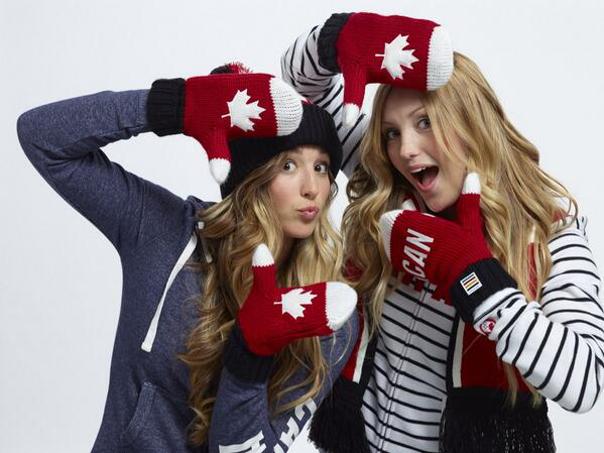 Justine & Chloe Dufour-Lapointe via @CJAY92