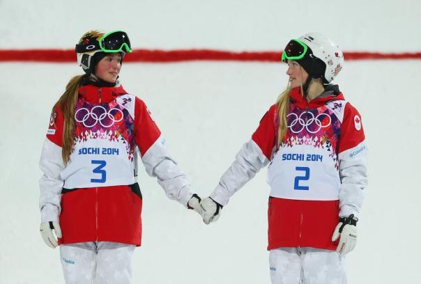 Justine & Chloe Dufour-Lapointe via @RDS