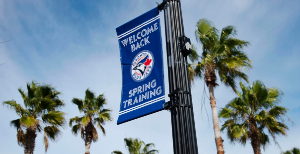Toronto Blue Jays Spring Training 2014 Banner