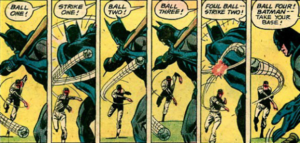 Batman At Bat