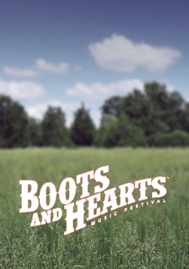 Boot and Hearts Field Logo