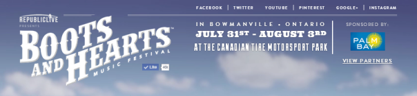 Boots and Hearts 2014 Website Banner