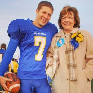 Matt Saracen and Grandma Friday Night Lights
