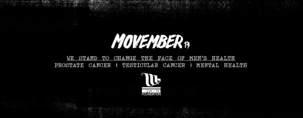 Movember 2013 Banner