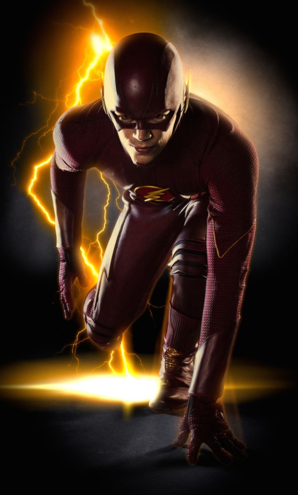 The Flash Full Suit View